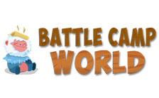 Battle Camp World Logo