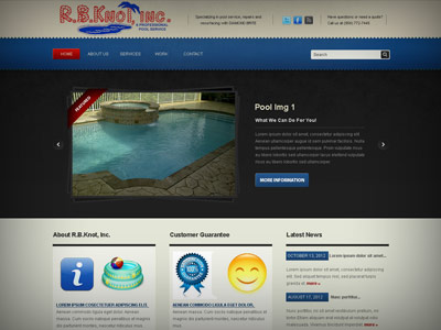 RB Knot Inc Pool Services