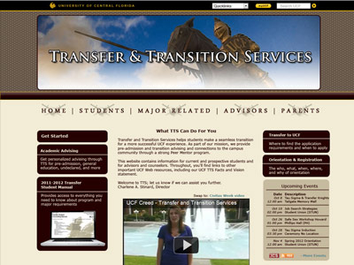 UCF Transfer & Transition Services Showcase