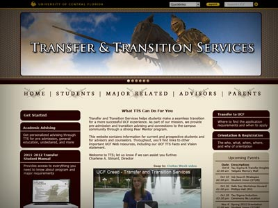 University of Central Florida Transfer & Transition Services Redesign